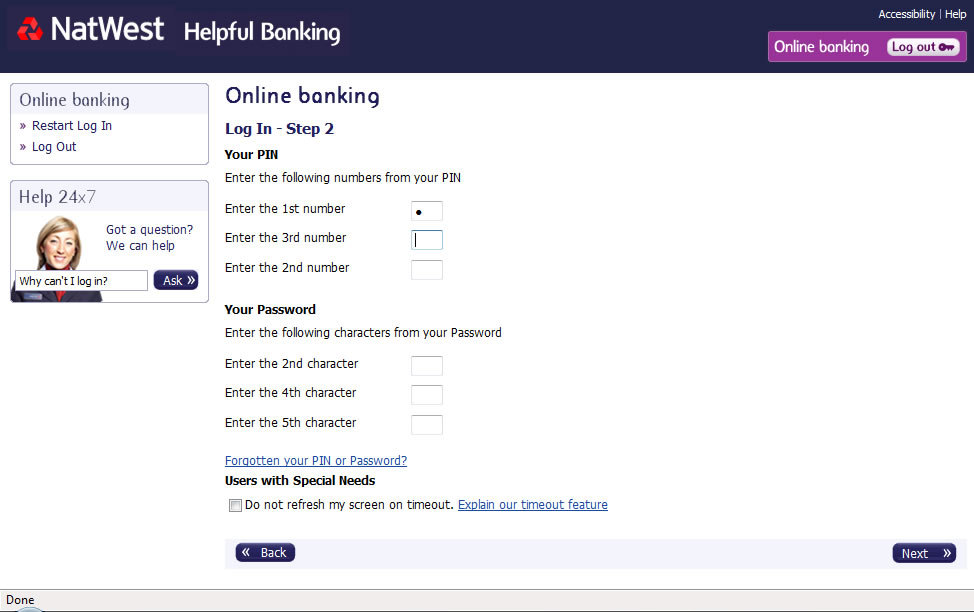 natwest bank login