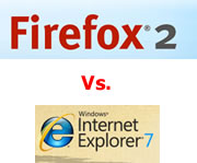 Firefox and Internet Explorer Logos